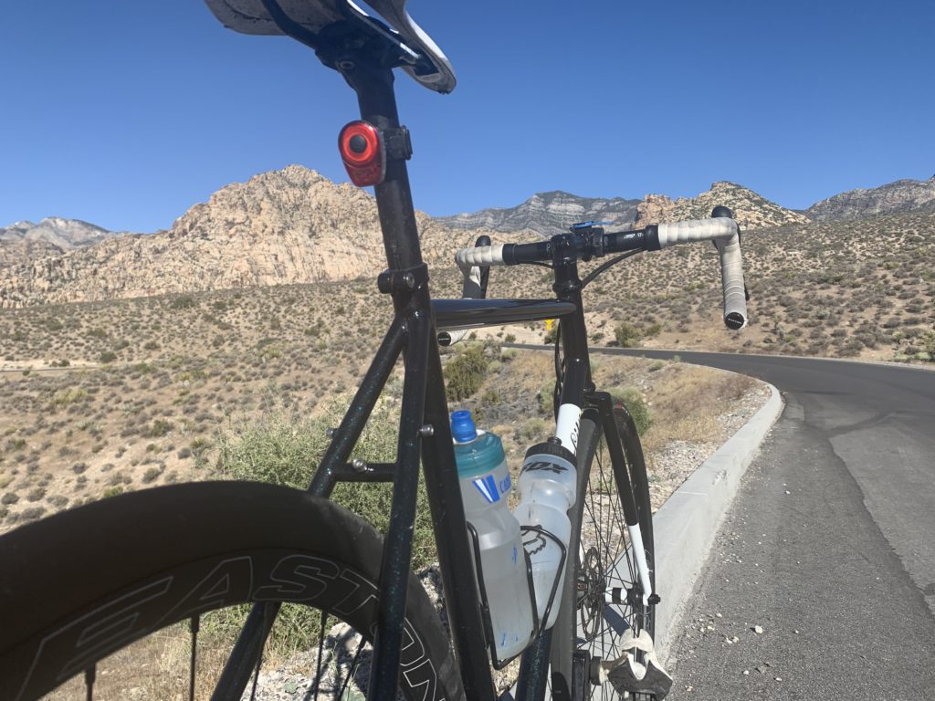 Bike in Red Rock Canyon park